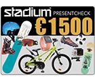 Stadium Presentcheck 1 500 €