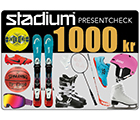 Stadium Presentcheck 1 000 kr