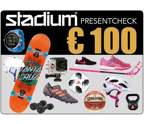 Stadium Presentcheck 100 €