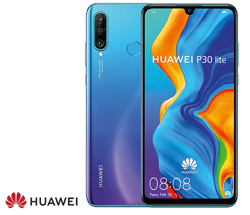 Huawei P30 Lite 128 GB, Blå