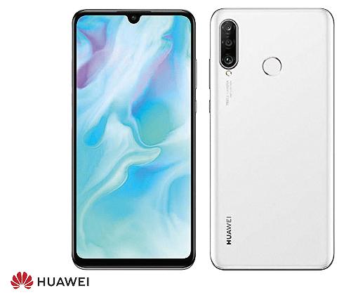 Huawei P30 Lite 128 GB, Vit