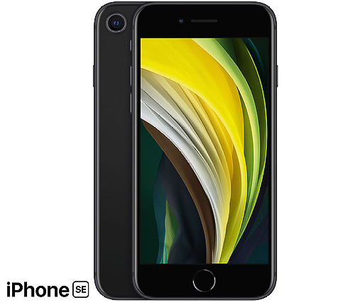 IPhone SE, 64GB, Svart