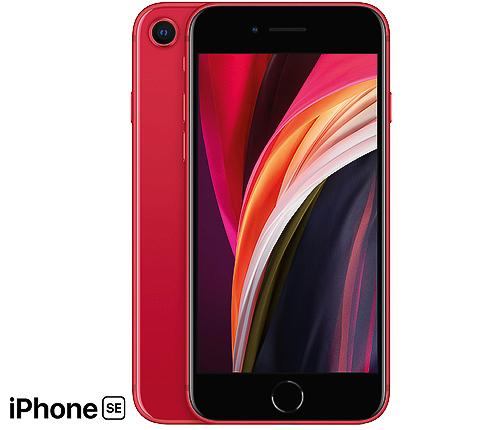 IPhone SE, 64GB, Röd