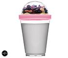 Fresh Yogurtbägare, rosa
