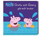 Greta Gris & Georg går & badar