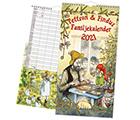 Familjekalender 2021 Pettsson & Findus
