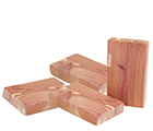 Doftblock i cederträ, 4-pack