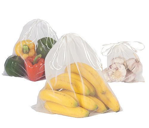 Frukt & Grönt miljöpåsar,3-Pack
