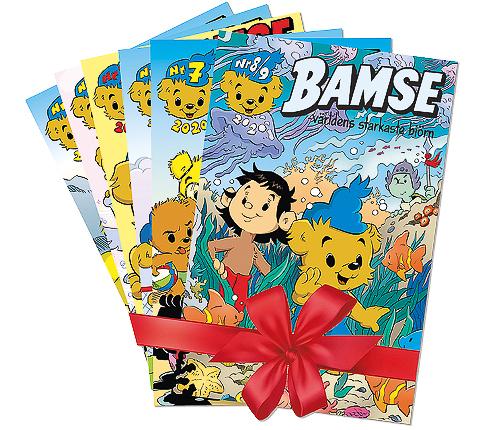Prenumeration Bamse - 6 nummer