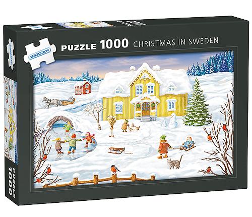 Pussel – Jul i Sverige, 1000 bitar