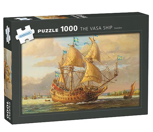 Pussel–Vasaskeppet 1000 bitar