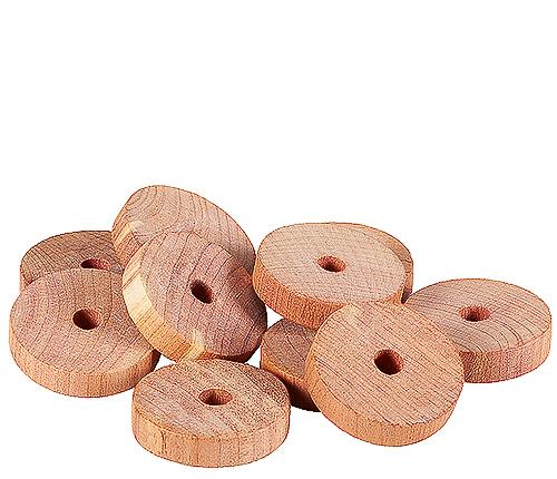 Doftringar i cederträ, 10-pack