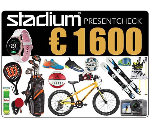 Stadium Presentcheck 1 600 €