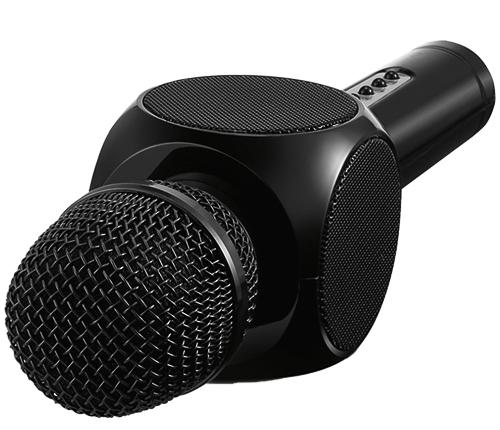 Partymikrofon, Svart