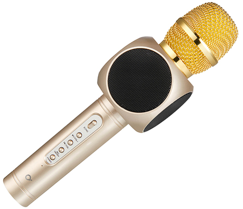 Partymikrofon, Guld