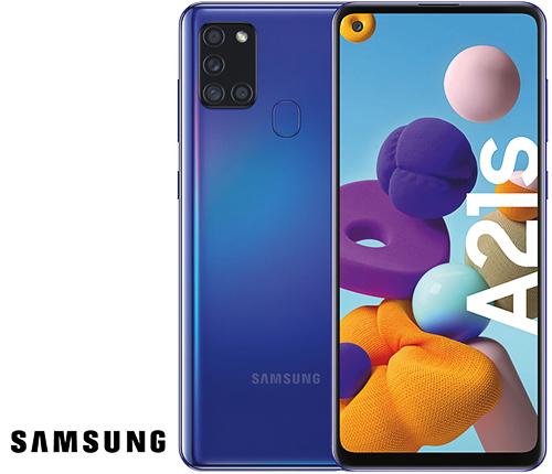 Samsung Galaxy A21s, Blå