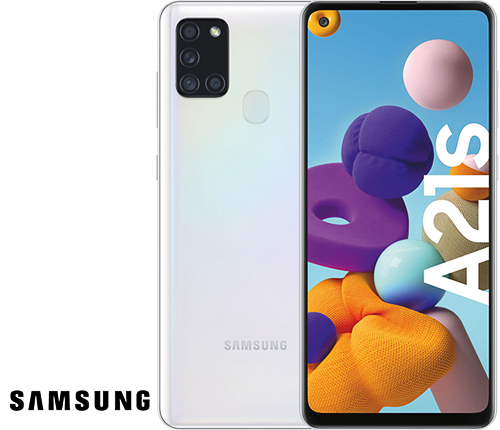 Samsung Galaxy A21s, Vit