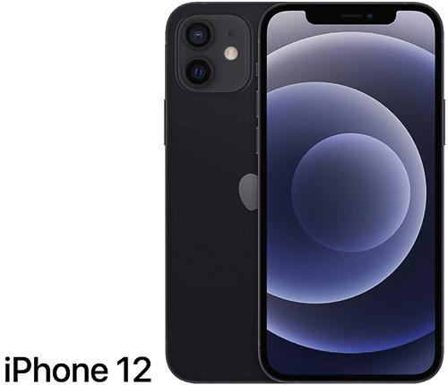 iPhone 12 64GB, Svart