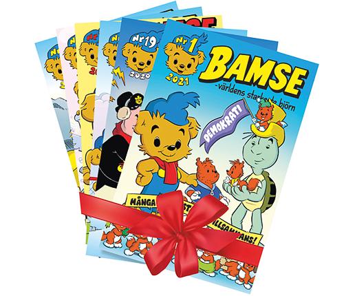 Prenumeration Bamse – 6 nummer
