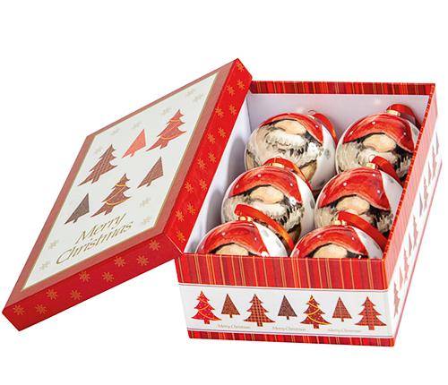 Exklusiva julkulor, 6-pack