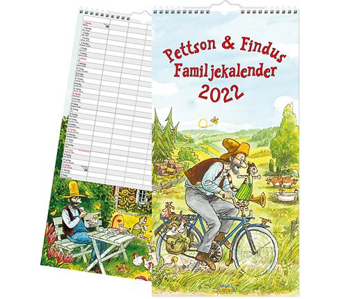 Familjekalender 2022, Pettsson & Findus