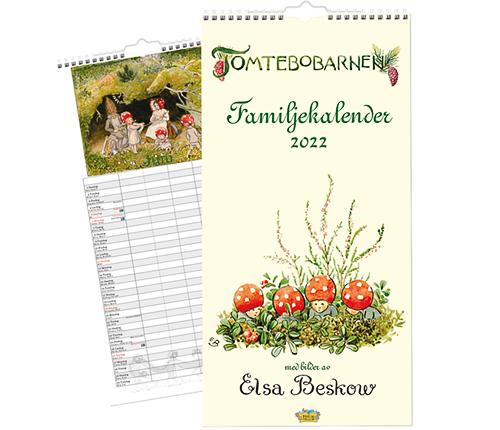 Familjekalender 2022 – Elsa Beskow