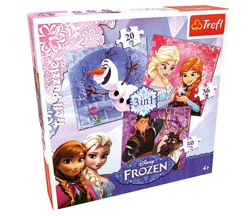 Pussel - Frozen