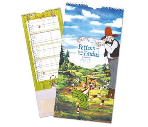 Pettson & Findus–Kalender 2017