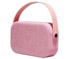 Bluetooth högtalare, rosa