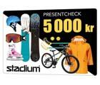 Stadium presentcheck 5000 kr