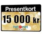 Netonnet presentkort 15000 kr