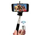 Selfie stick - Svart