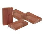 Doftblock i cederträ 4-p