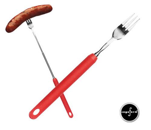 BBQ Korvgaffel, röd