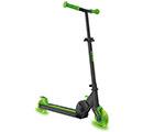 Sparkcykel med gröna Neon hjul