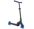 Sparkcykel med blåa Neon hjul