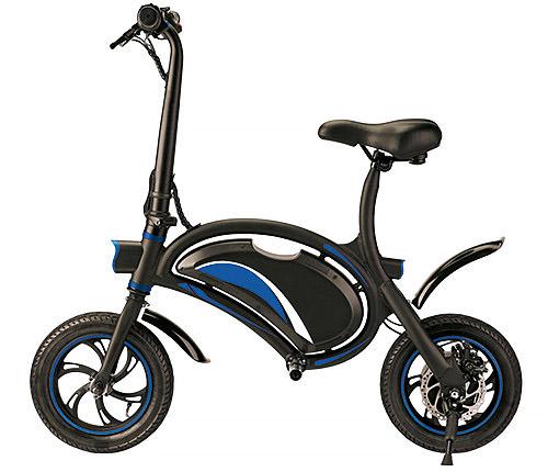 Elscooter Blå