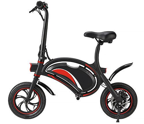 Elscooter Röd