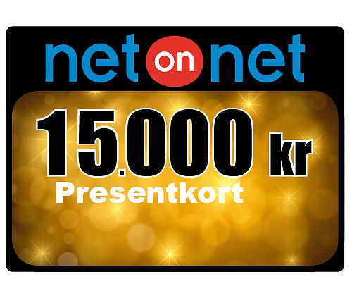 Netonnet Presentkort 15 000 kr