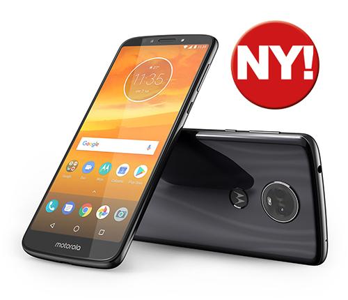 Motorola Moto E5 Plus Grå