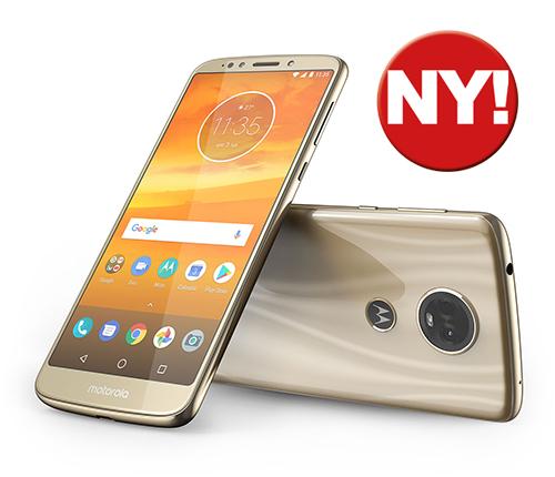 Motorola Moto E5 Plus Guld