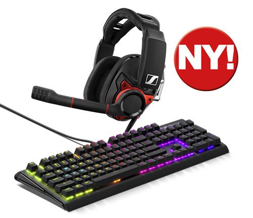 Gaming hörluar och Keyboard