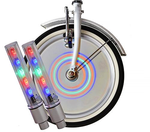 LED-Lampa Cykelhjul, 2-pack