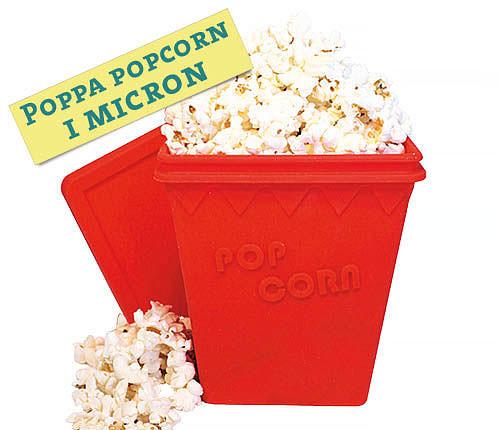 Popcorn-Maker för Mikro