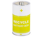 Batteriburk för återvinning
