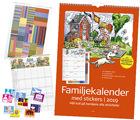 Familjekalendern 2019 med stickers