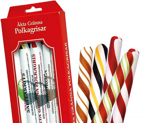 Polkagrisar 5-pack