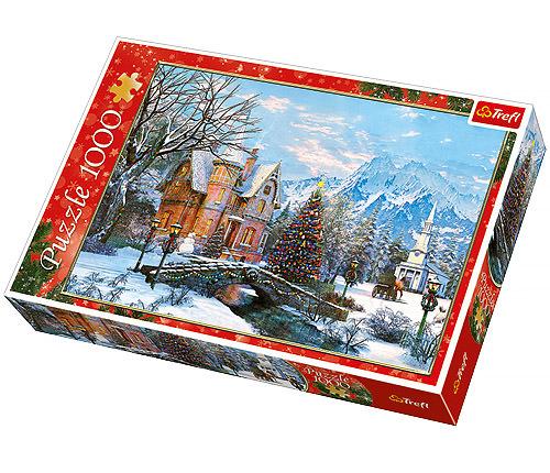 Winter landscape, 1000 bitar