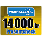 Webhallen Presentkort 14000 kr