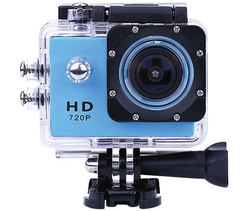 Actionkamera, blå